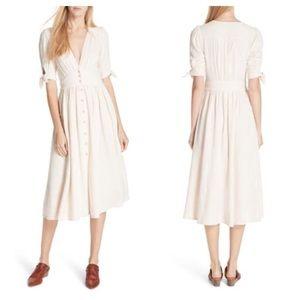 Free People Love My Life Midi Dress Size XS